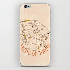 Judah iPhone & iPod Skin