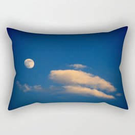 Gibbous Moon Rectangular Pillow