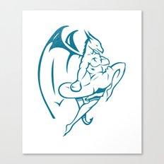DUCOM Kickboxing Logo Canvas Print