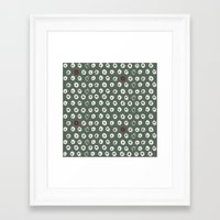 potato Framed Art Prints featuring Potato by LutraLutraCards