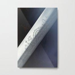 The Dragon Blade Metal Print