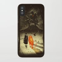 oz iPhone & iPod Cases featuring The Land Of Oz by Dan Burgess