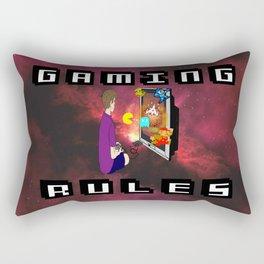 Gaming Rules Rectangular Pillow