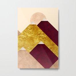 Modern Mountain No3-P2 Metal Print