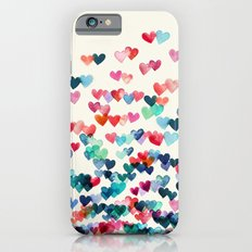 Heart Connections - watercolor painting iPhone 6 Slim Case