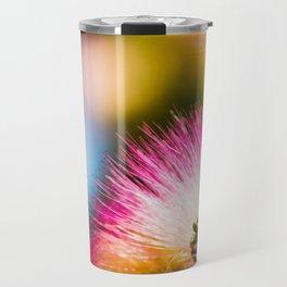 Exotic summer pink silk tree mimosa Travel Mug
