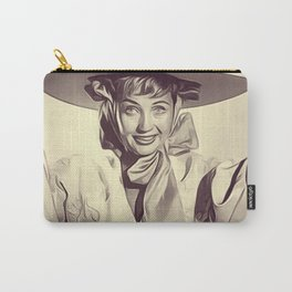 Jane Powell, Vintage Actress Carry-All Pouch