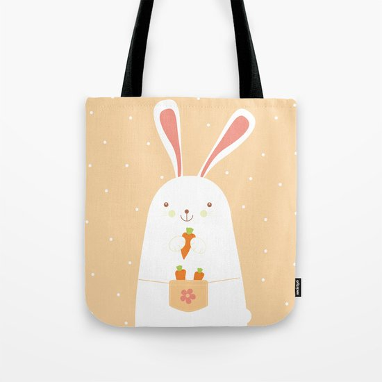I promise nicely eat carrots. Tote Bag