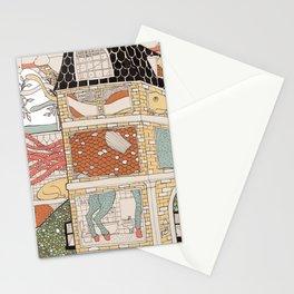 City of animamaly Stationery Cards