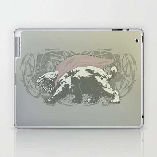 Fearless Creature: Saba Laptop & iPad Skin