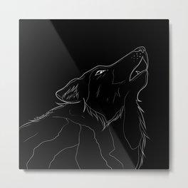 Wolf Mother Metal Print