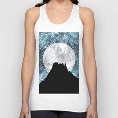 Midnight Moon Unisex Tank Top