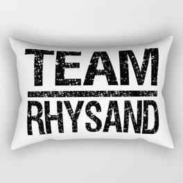 Team Rhysand Rectangular Pillow