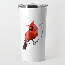 Ohio – Northern Cardinal Travel Mug