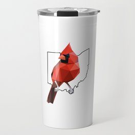 Ohio – Northern Cardinal Travel Mug