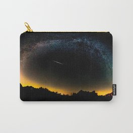 Milky Way & Perseid Meteor Shower - Joshua Tree 2016 Carry-All Pouch