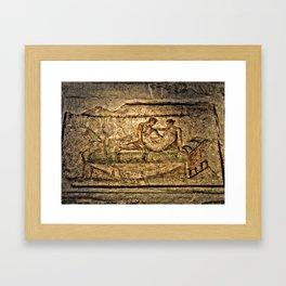 Pompeii Brothel Framed Art Print