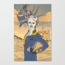 Peggy and ED-E Canvas Print