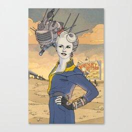 Peggy and ED-E Canvas Print