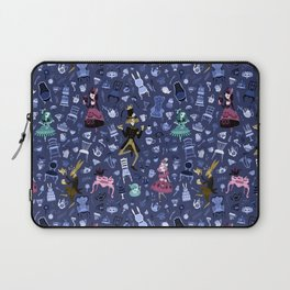 Alice - Mad Tea Party Pattern Laptop Sleeve