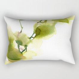 Love by green Rectangular Pillow