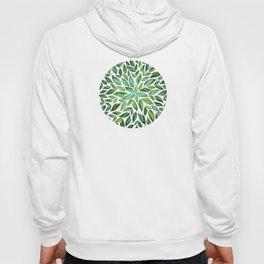 Spring Leaf Mandala Hoody