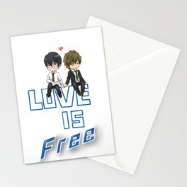 Love is Free Stationery Cards