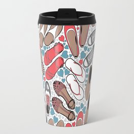 Shoe lover tattoos Travel Mug