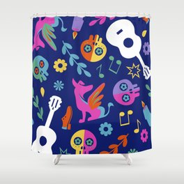 Mi Familia Shower Curtain