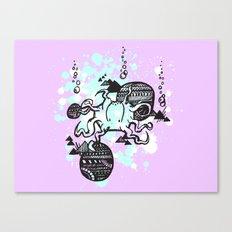 Let's get Kraken Canvas Print