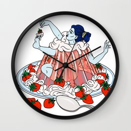 Jello Girl Wall Clock
