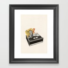 Organic Sound Framed Art Print