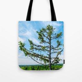 Conifer Tree Top Tote Bag