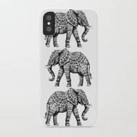 bioworkz iPhone & iPod Cases featuring Ornate Elephant 3.0 by BIOWORKZ