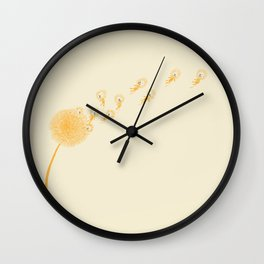 Dande-lions Wall Clock