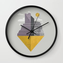 Grand Canyon slice Wall Clock