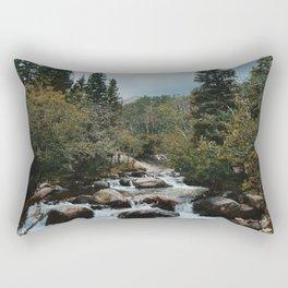 Rocky Mountain river Rectangular Pillow