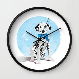 Dalmation Senstation Wall Clock