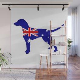 Australian Flag - Dalmatian Wall Mural