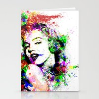 monroe Stationery Cards featuring Monroe. by David