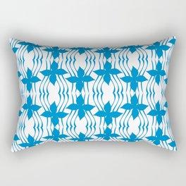Bluewave Pinwheel Rectangular Pillow