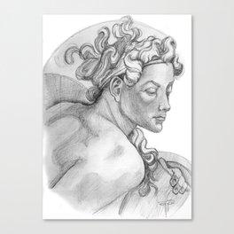 Ignudi Sistine Chapel Canvas Print