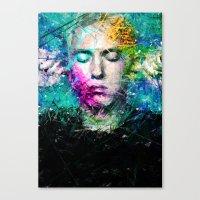 rap Canvas Prints featuring Rap God by Raditya Giga