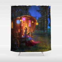 Wanderlust Shower Curtain