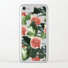 Figs & Leaves #society6 #decor #buyart Clear iPhone Case