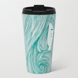 consumed - green variant Travel Mug