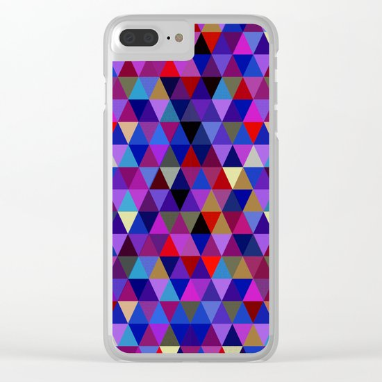 Abstract #212 Clear iPhone Case