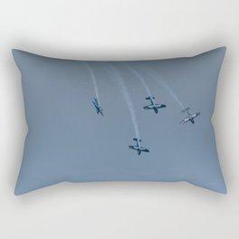 The Blades Aerobatic Team Rectangular Pillow
