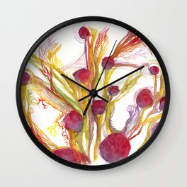 Iceland Abstracted #40 Wall Clock