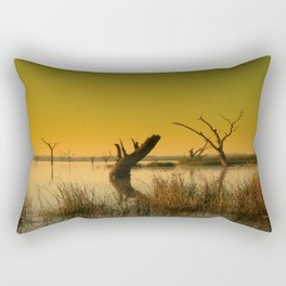 The Gate-Keeper of the Swamp Rectangular Pillow